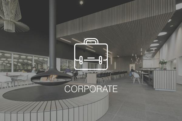 Audac voor corporate