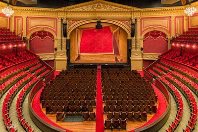 Wij verzorgen audio bij theater en poppodia