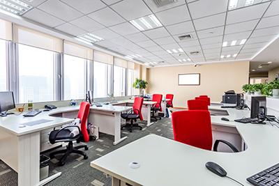 Wij verzorgen audio bij bij kantoren en bedrijfshallen